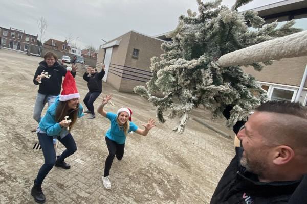 Kerstboomwerpen